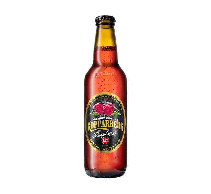 Kopparberg Raspberry Cider NRB (24 x 330ml)
