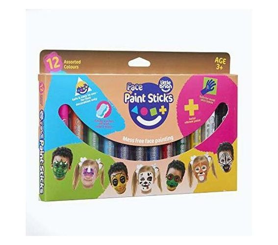 Little Brian - Face Paint Sticks 12 Pack