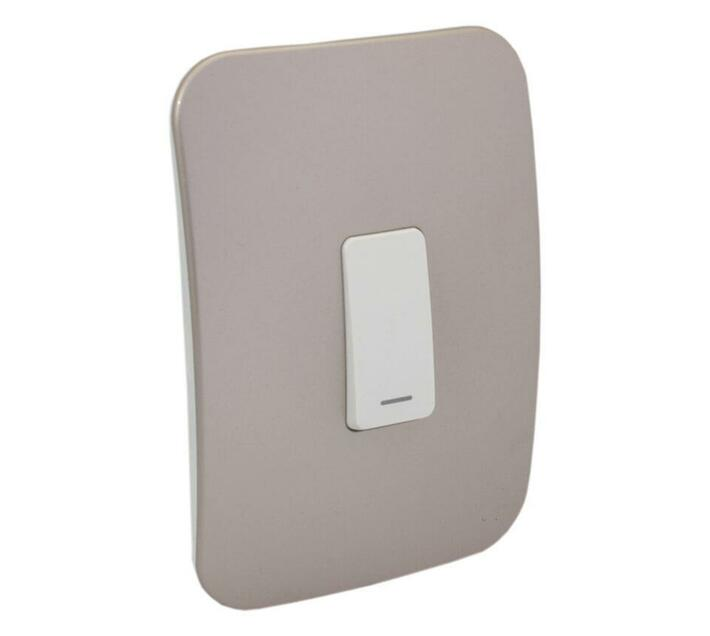 Champagne One Lever Light Switch (VG111C1VWCN) - VETi