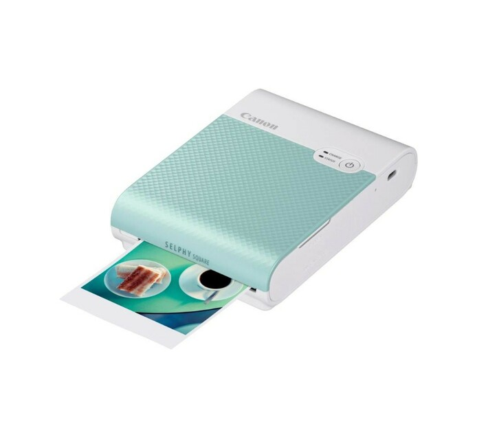 Canon Selphy square QX10 green printer
