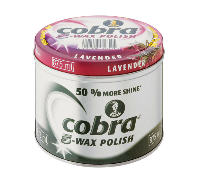 Cobra Floor Polish Lavender (1 x 875ml)