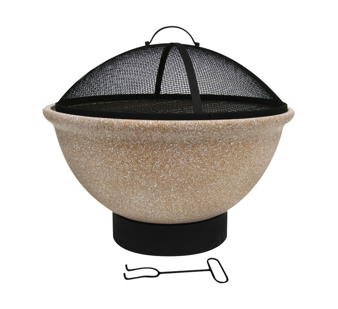 Terrace Leisure 53 cm Round Clay Fire Pit
