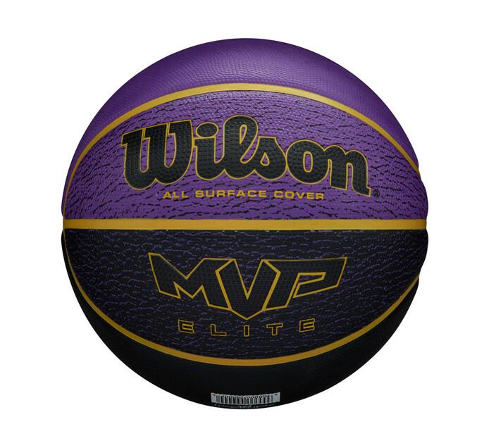 WILSON MVP ELITE BASKETBALL SZ 7 PUR/NVY