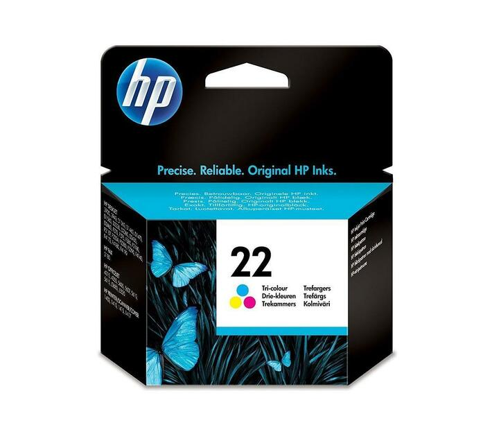 HP 22 5 Ml Colour (Cyan, Magenta, Yellow) Original Ink Cartridge