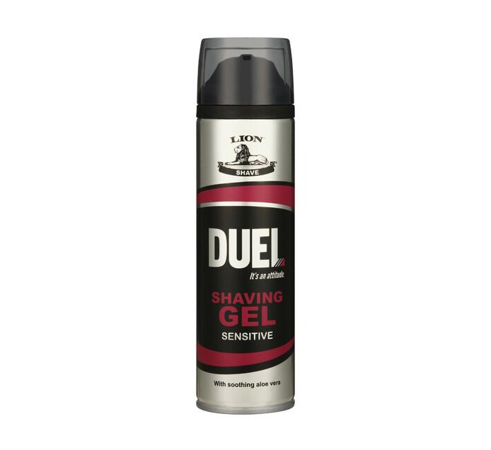 Duel Shaving Gel Sensitive (6 x 200ml)