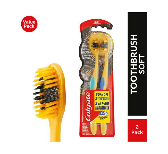 Colgate Adult 360 Toothbrush (1 x 2's)