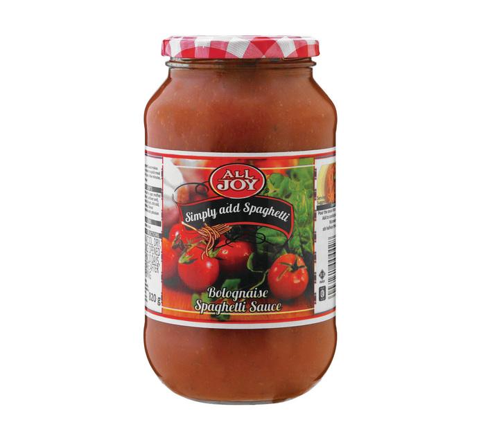 All Joy Spaghetti Sauce Bolognaise (1 x 820g)