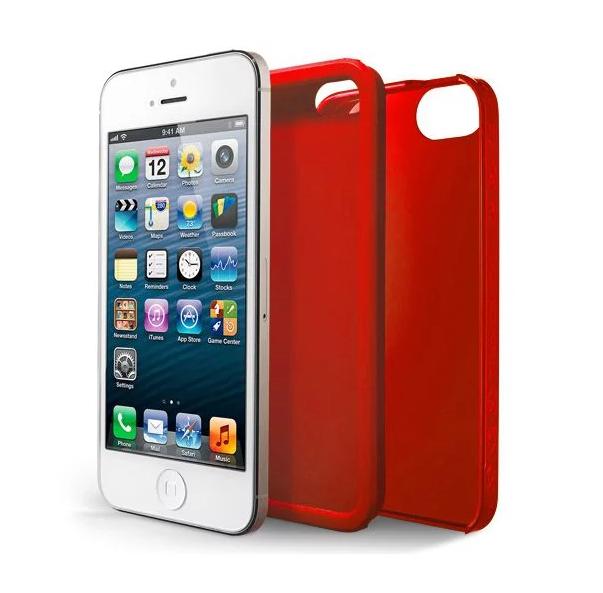 Case Scenario Skin & Bone Protective iPhone 5/5S/SE Cover (Red)