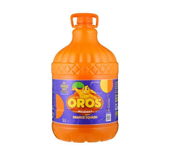 Brookes Oros Orange Squash (2 x 5lt)