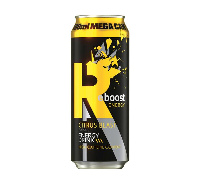 Reboost Energy Drink CITRUS BLAST (4 X 500ML)