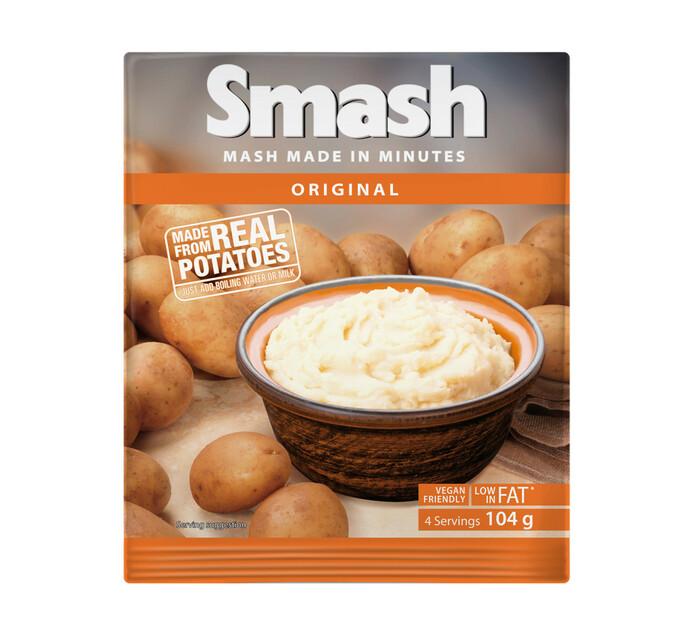 Smash Instant Mash Potato Original (1 x 104g)