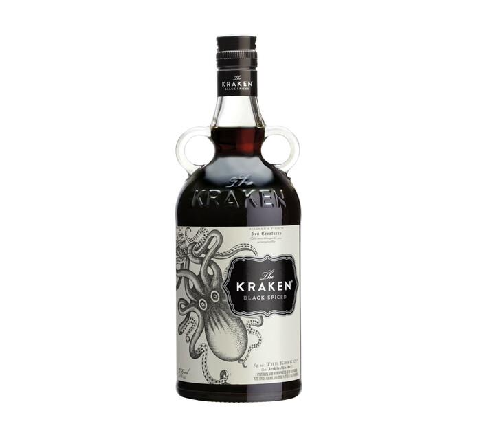 Kraken Black Spiced Imported Rum (1 x 750 ml)
