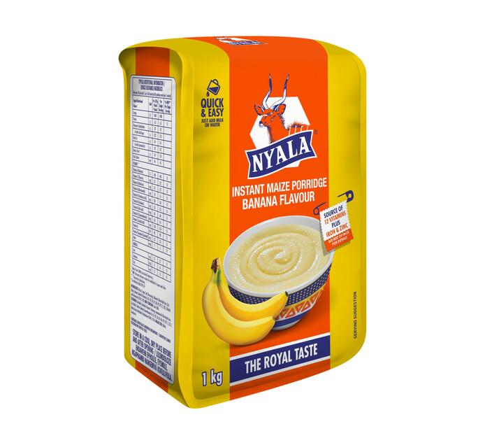 NYALA B/FAST PORIDGE 1KG, BANANA