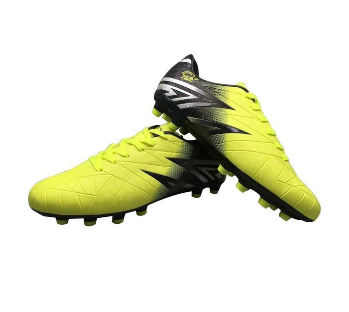 Pele Soccer Boots Yellow and Black