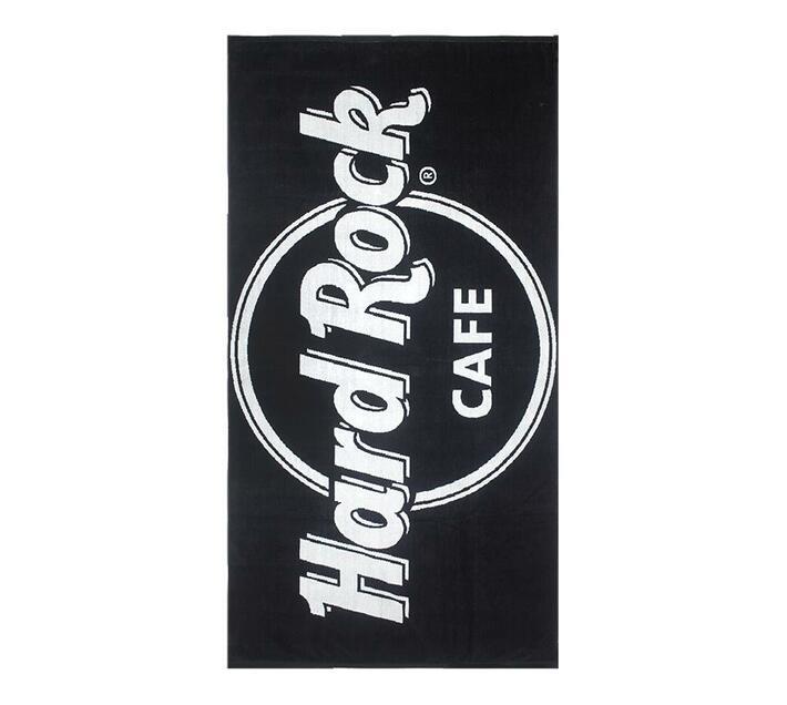 Hard Rock Cafe Beach Towel 90x180 730gms - Black