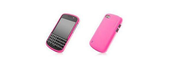 Capdase Soft Jacket Blackberry Q10 Cover (Pink)