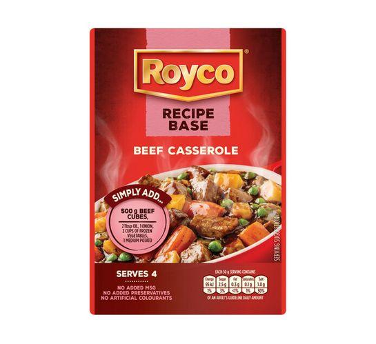 Royco Recipe Base Cooking Mixes Beef Casserole (1 x 200g)