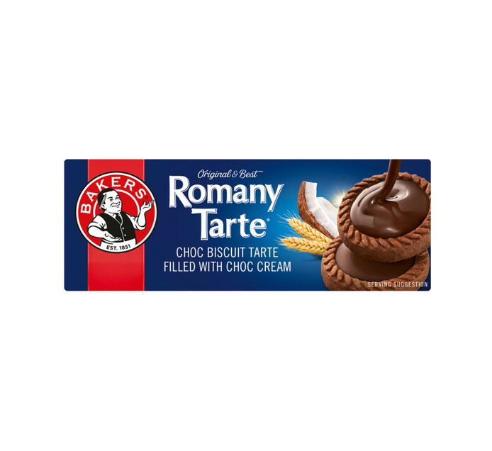 Bakers Romany Tarte Biscuits (12 x 150g)