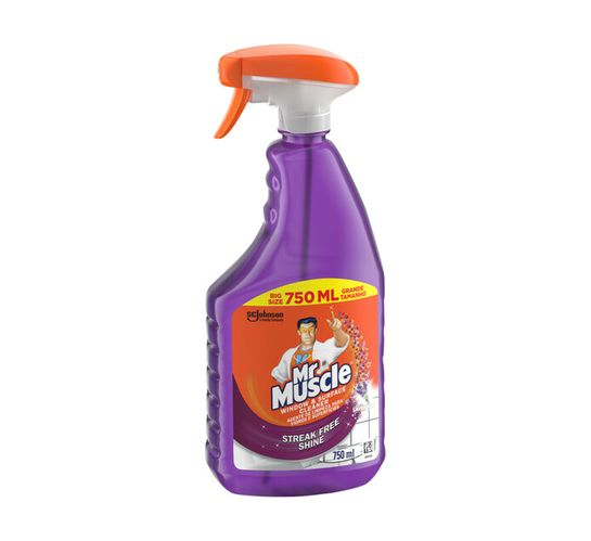 Mr Muscle Glass And Surface Cleaner Lavender (6 x 750ml)