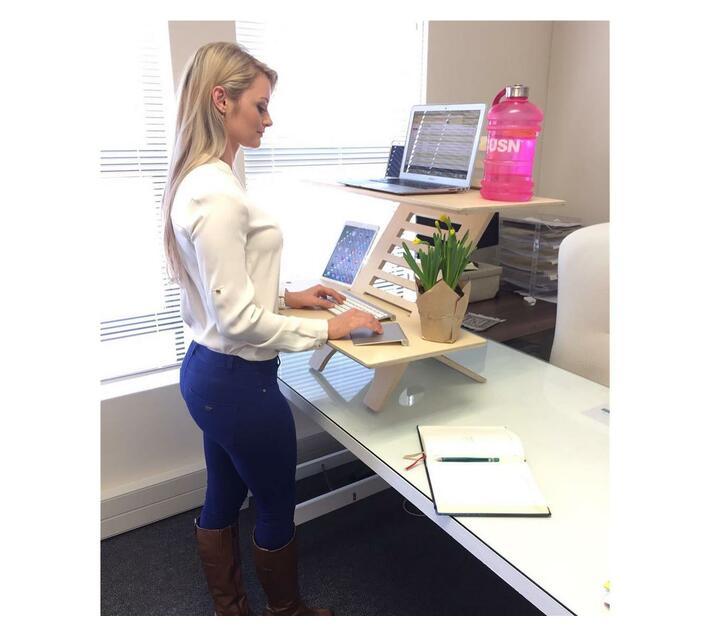 JUMBO DeskStand PLUS Anti-Fatigue Mat COMBO