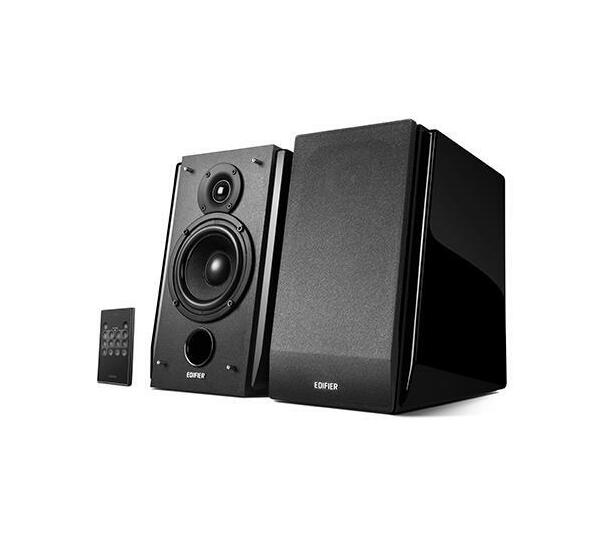 Edifier - R1850DB-BLA Active Bookshelf / Multimedia Speaker - Bluetooth (With Subwoofer Line Out)
