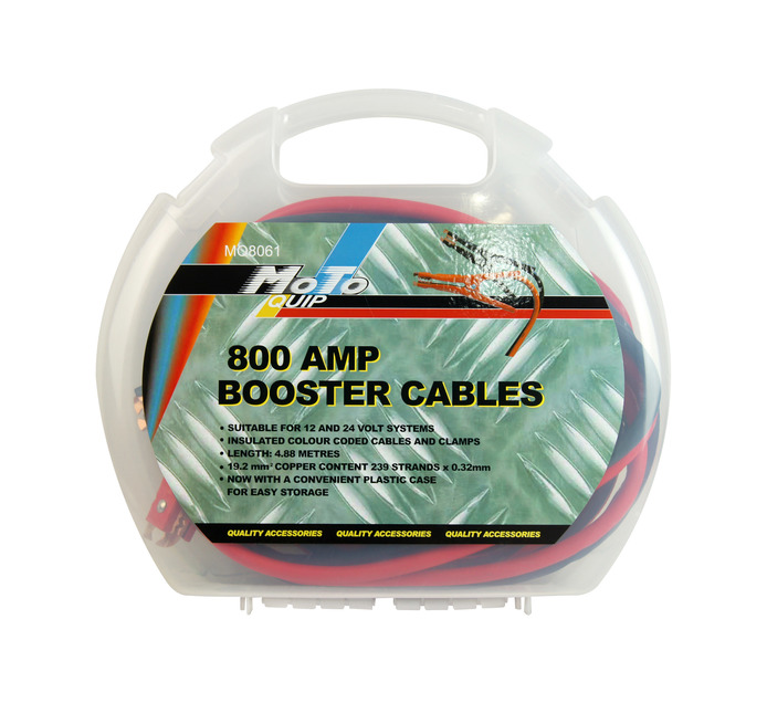 MOTO-QUIP 800 Amp Booster Cables