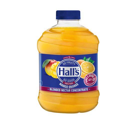 Halls Fruit Juice Mango Orange (6 x 1L)