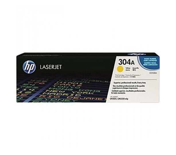 HP 304A Yellow LaserJet Toner Cartridge
