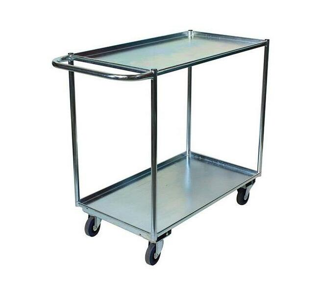 2 Tier Warehouse Stock Picking Trolley
