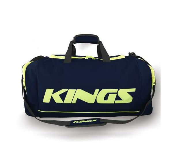 Kings Dome Shaped Navy & Green Carry Bag - 2577S