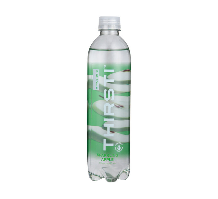 Thirsti Sparkling Flav Water Lemon (6 X 500ml)