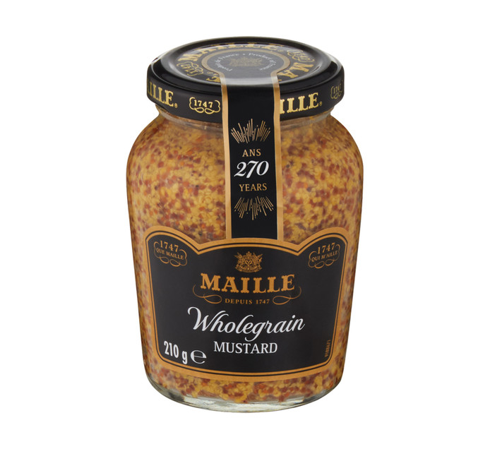 MAILLE Mustard Wholegrain (1  x 210g)