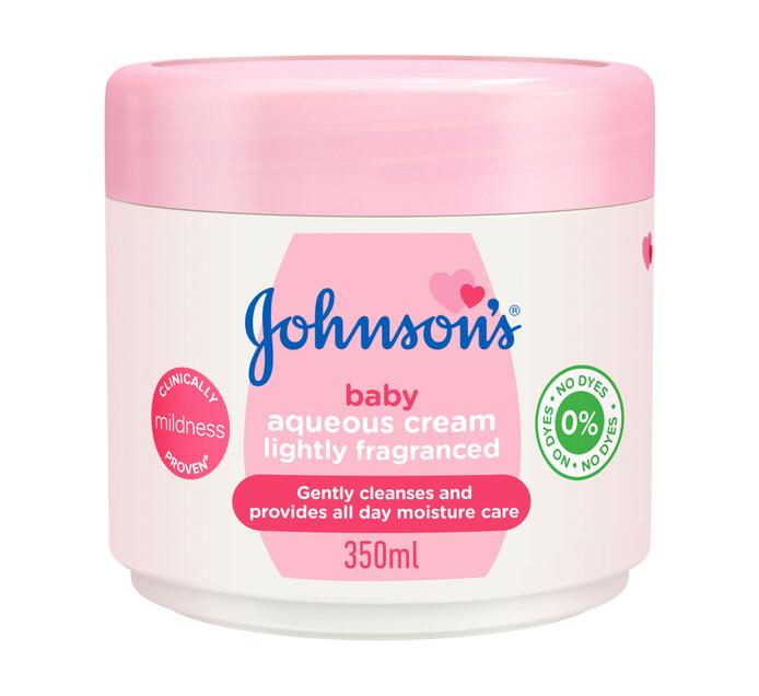 Johnsons Baby Aqueous Cream Light (1 x 350ml)