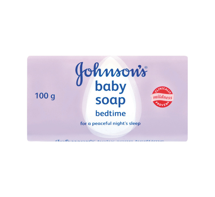 Johnson's Baby Soap Bedtime (12 x 100g)