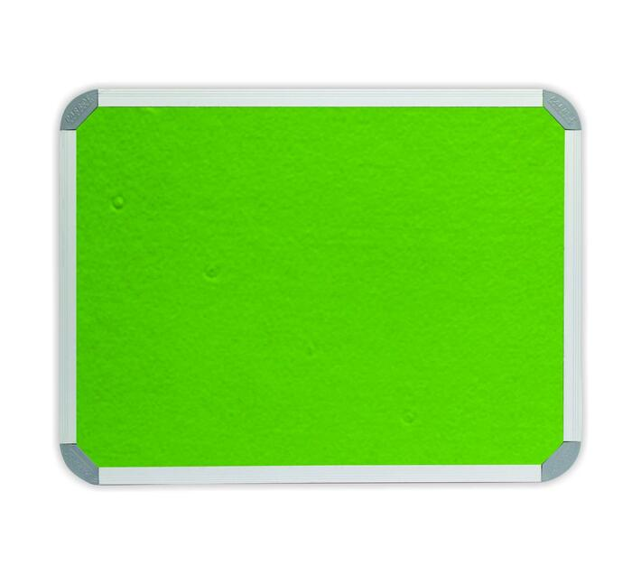 PARROT PRODUCTS Info Board (Aluminium Frame, 1000*1000mm, Lime Green)