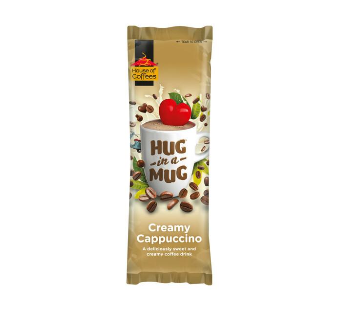 House Of Coffees Hug in a Mug Cappuccino Creamy (10 x 24g)