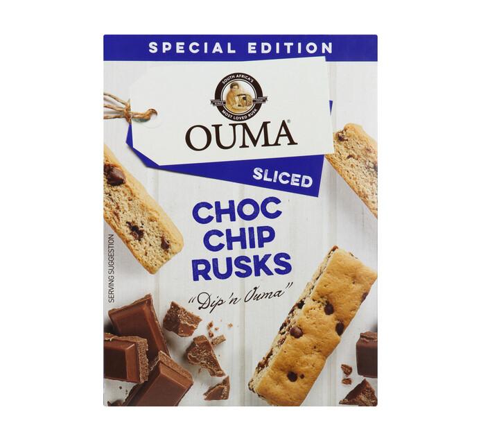 Ouma Ouma Sliced Rusks Choc Chip (1 x 450g)