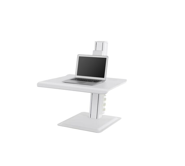 Sit stand workstation for laptops and computers