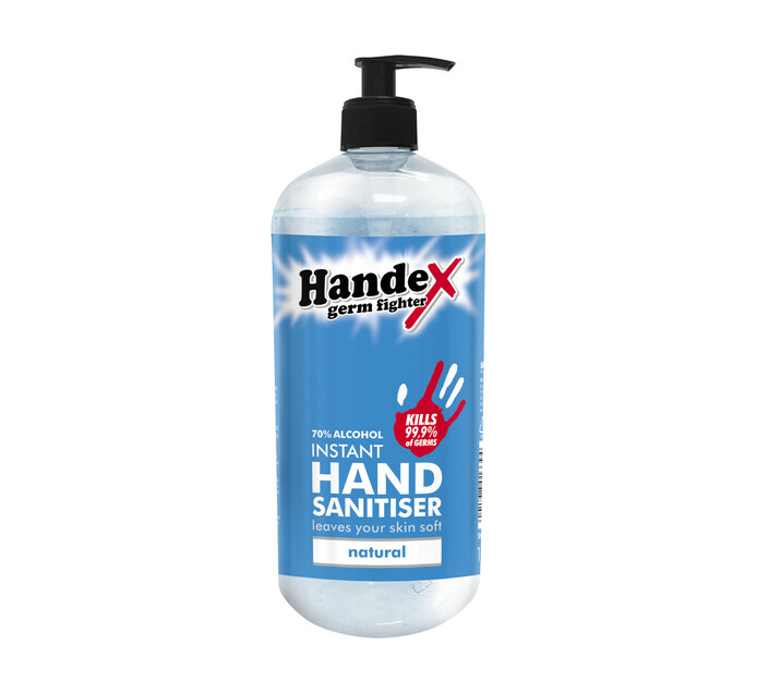 Handex Hand Sanitizer Pump Natural (1 x 1l)