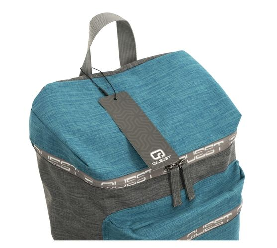 Quest Top Loader Series Backpack - Aqua/Grey