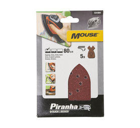 PIRANHA 80G Mouse Sand Paper