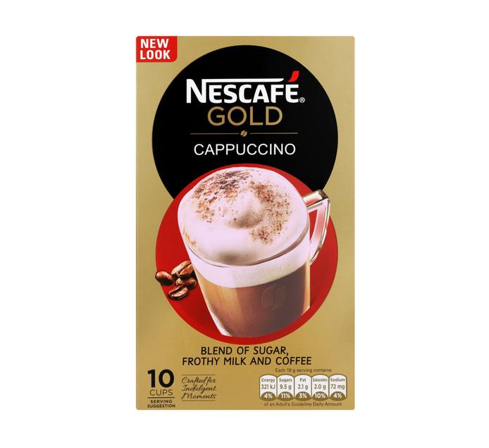 Nescafe Cappuccino Sachets Original (10 x 18g)
