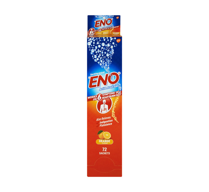 ENO Fruit Salts Orange (1 x 72's)