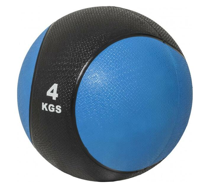GORILLA SPORTS SA - Medicine Ball 4 kg - Blue/Black
