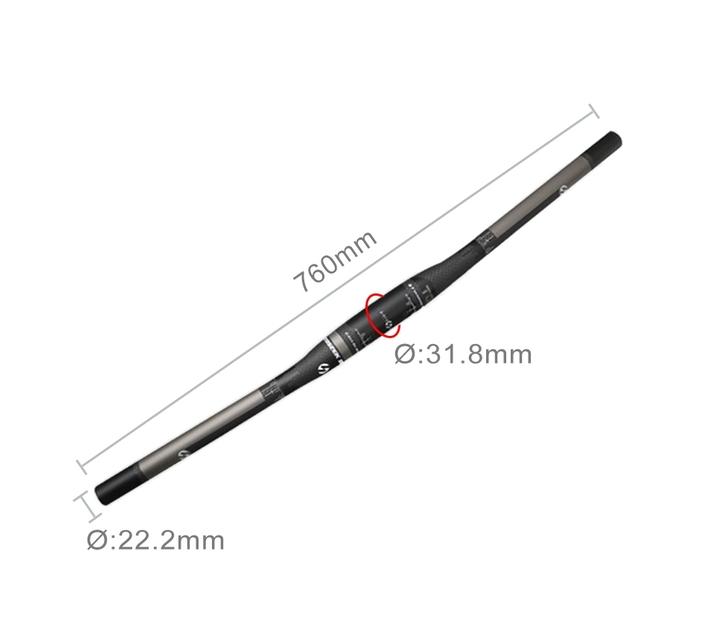 Toseek Full Carbon Fiber Saddle - Ultralight (White & Black)