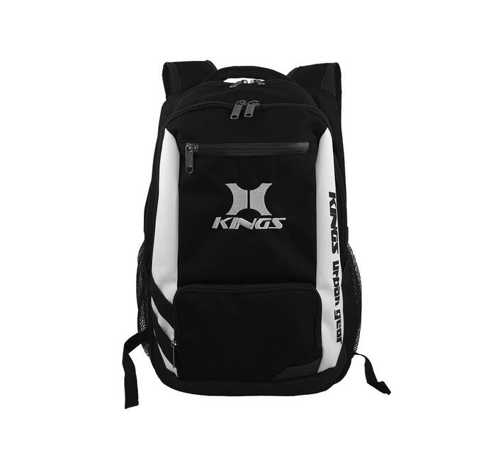 Kings Urban Gear Clean Cut 3 Toned School Bag - Black 2640