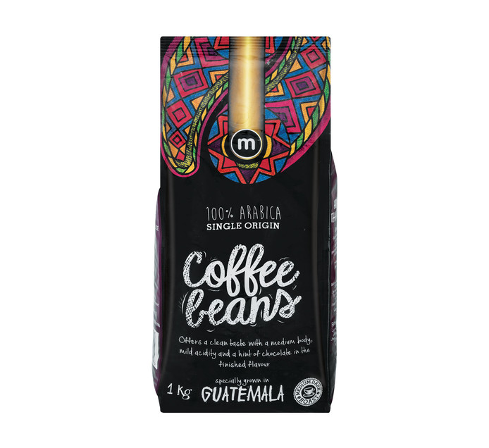 M Brand Coffee Beans Guatamala (1 x 1kg)