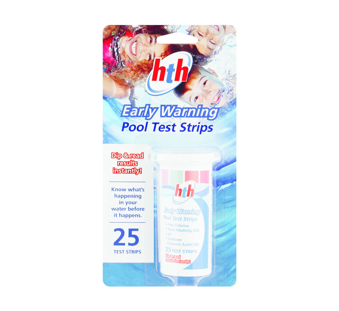HTH 25's Early Warning Pool Test Strips