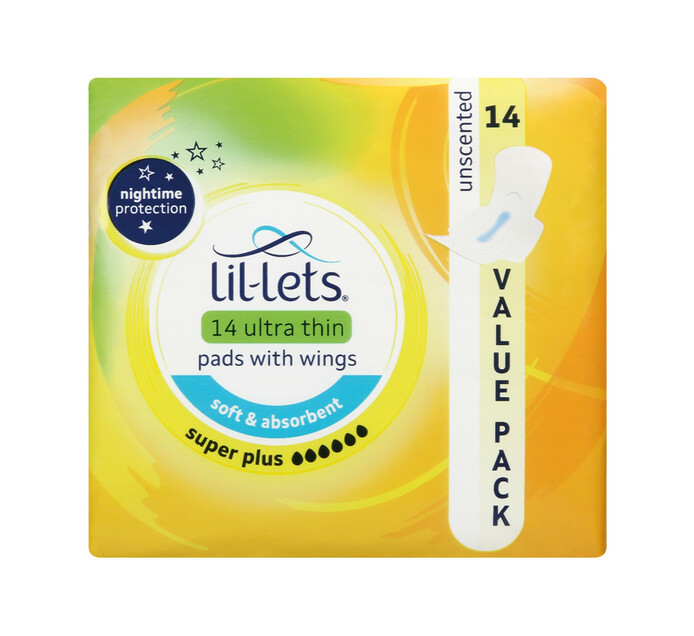 Lil-lets Ultra Thin Pads Super Plus (1 x 14's)