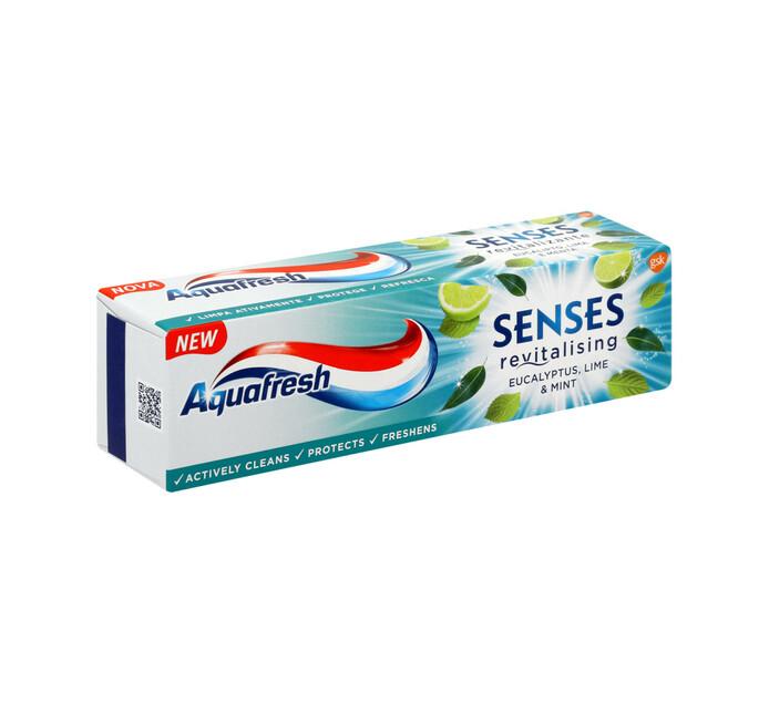 Aquafresh Senses T/Paste Eucalyptus (1 X 75ml)